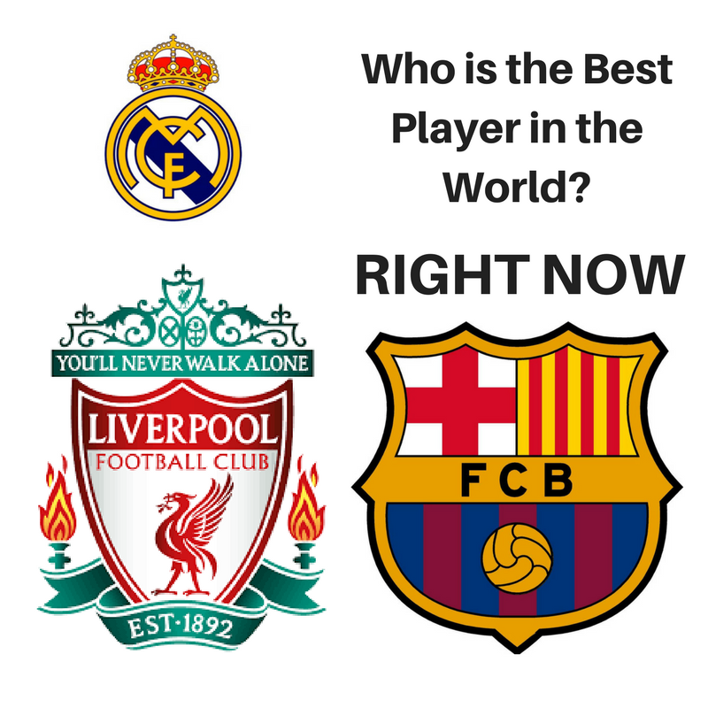 Salah, Messi or Ronaldo. Who is the Best Player ?