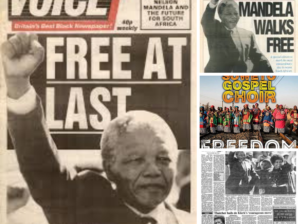 Soweto Gospel Choir. Nelson Mandela. Freedom.