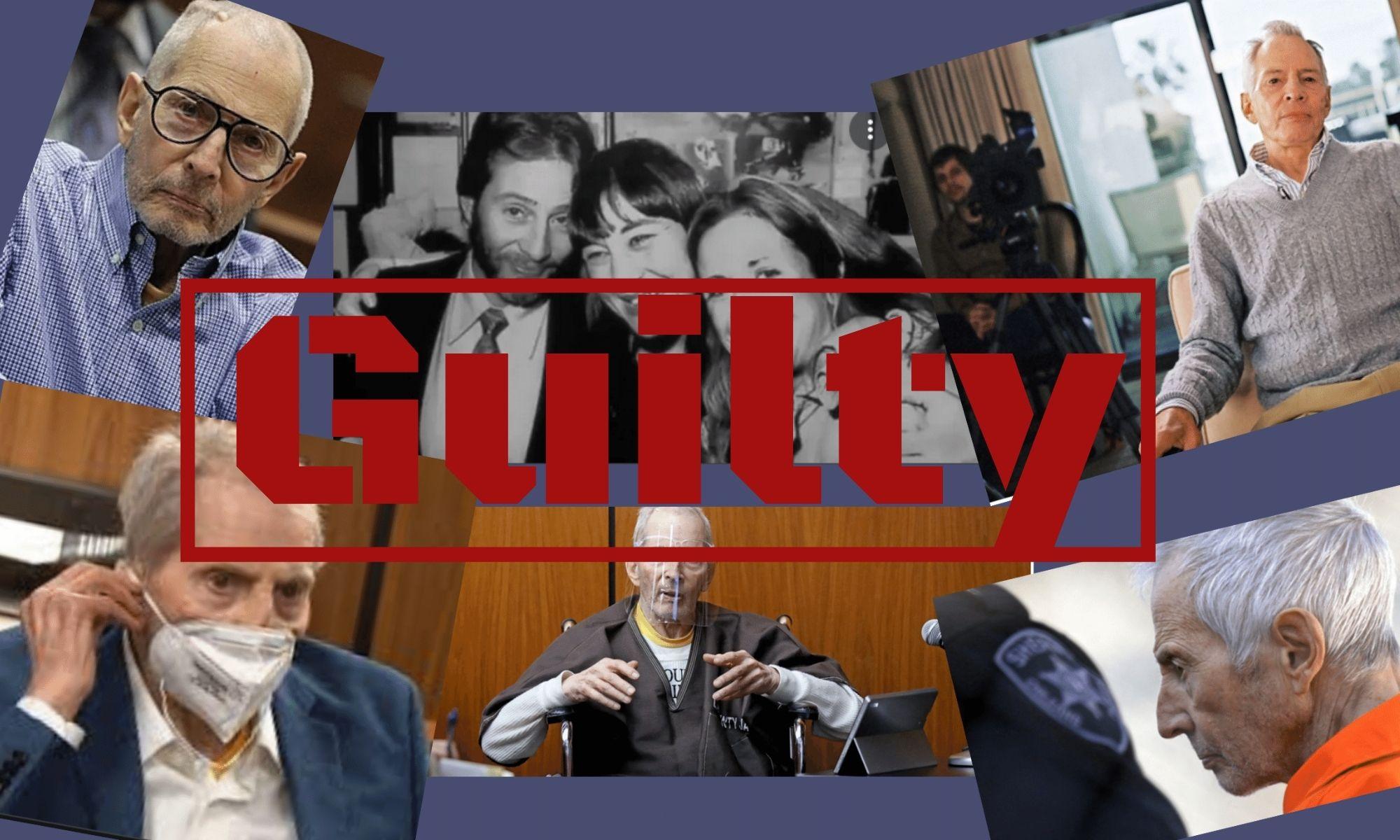 Robert Durst Convicted of Murder on his Friend Susan Berman